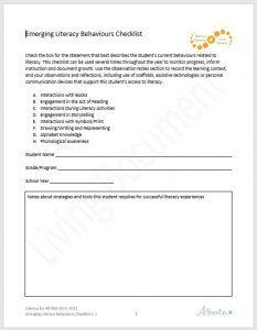 emerging-literacy-checklist-233x300